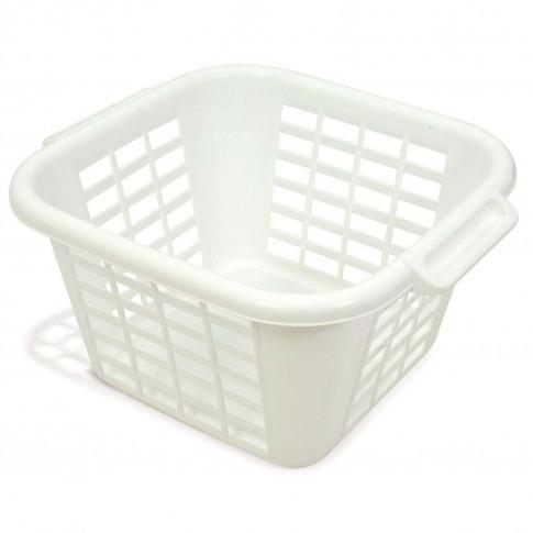 Addis Square Linen Laundry Basket
