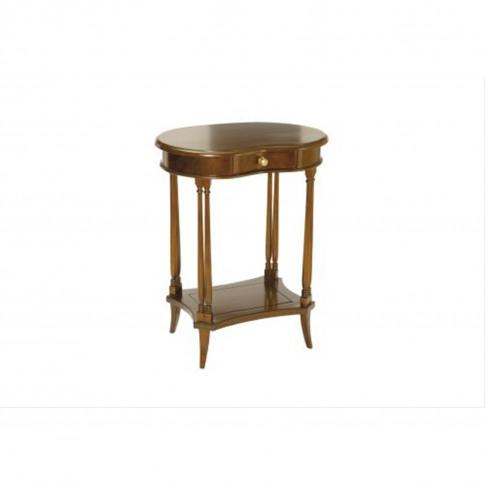 Casa Mahogany Kidney Side Table