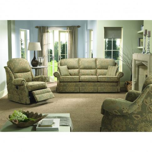 Bridgecraft Malvern 3 Seater Fabric Sofa