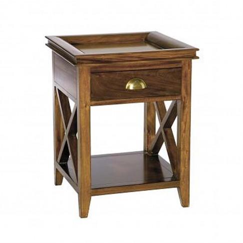 Casa Mahogany Oxford Lamp Table
