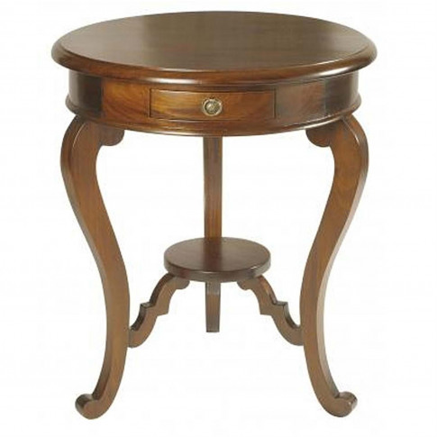 Casa Mahogany Lamp Table