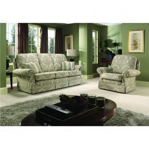 Bridgecraft Chartwell 3 Seater Fabric Sofa