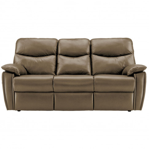G Plan Henley 3 Seater Leather Sofa