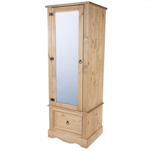 Connor Armoire with Mirrored Door