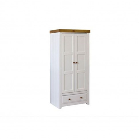 Celment 2 Door 1 Drawer Wardrobe
