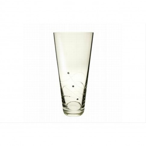 Dartington Swarovski Glitz Medium Vase