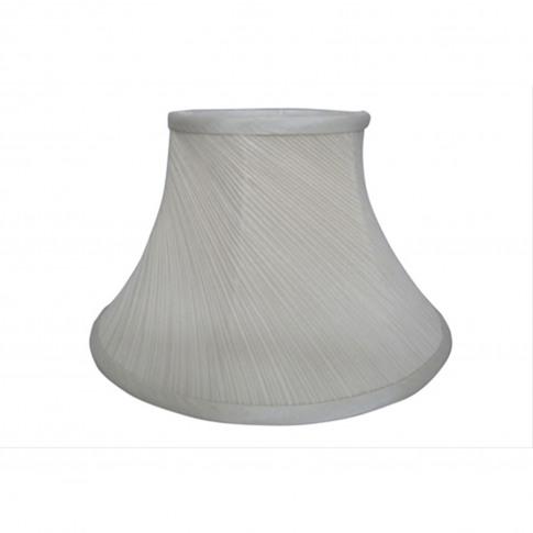 "6"" Twisted Lamp Shade, Cream"