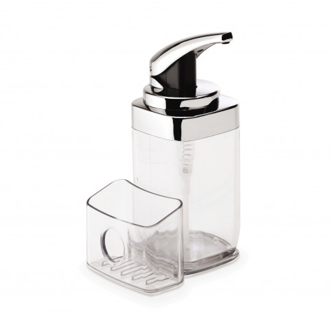 Simplehuman Square Pushpump Soap Dispenser With Caddy