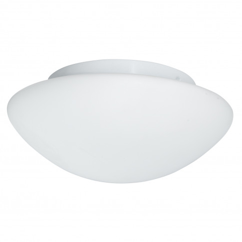Searchlight Bathroom Flush Light, Glass