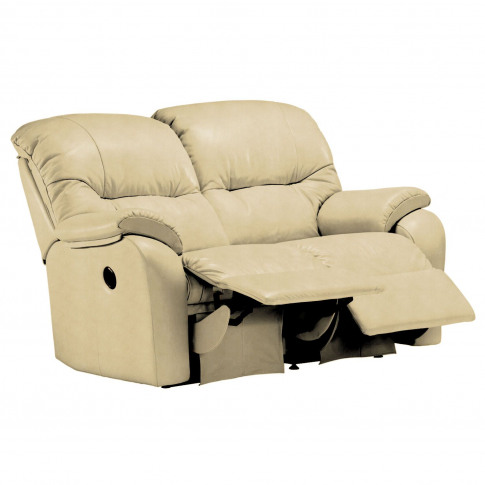 G Plan Mistral 2 Seater Left Power Recliner Leather Sofa