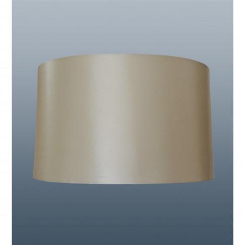 "12"" Oval Cream Silk  Lamp Shade"
