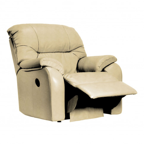 G Plan Mistral Manual Recliner Leather Armchair, Small