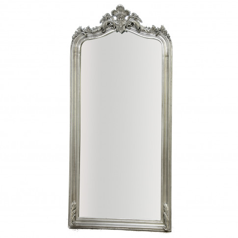 Casa Silver Leaner Mirror