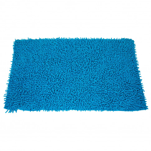 Casa Everyday Cotton Loop Bath Mat, Peacock