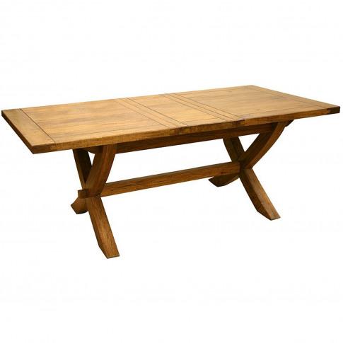 Casa Java X Leg Extending Dining Table