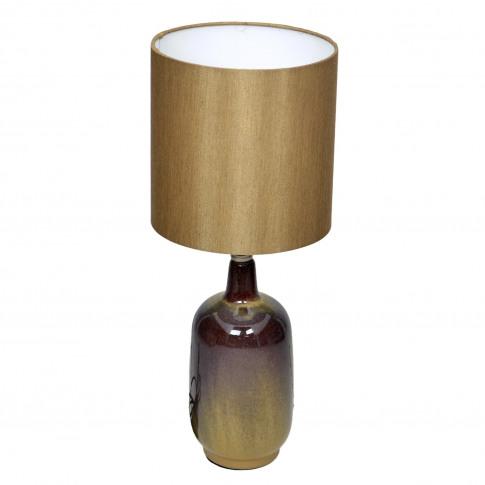 Larter Table Lamp, Brown