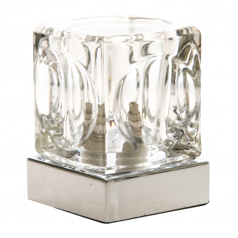 Temple Touch Table Lamp, Chrome