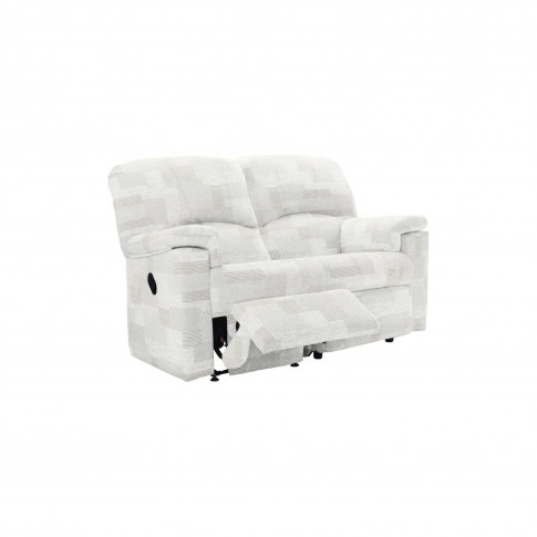G Plan Chloe 2 Seater Left Power Recliner Fabric Sofa