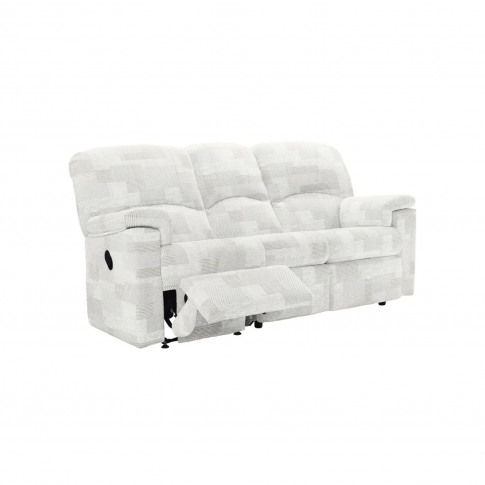 G Plan Chloe 3 Seater Right Power Recliner Fabric Sofa