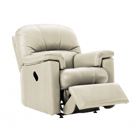 G Plan Chloe Power Recliner Leather Armchair, Small