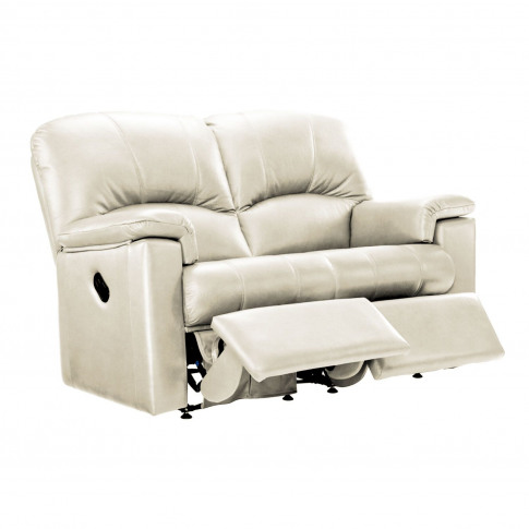 G Plan Chloe 2 Seater Right Manual Recliner Leather ...