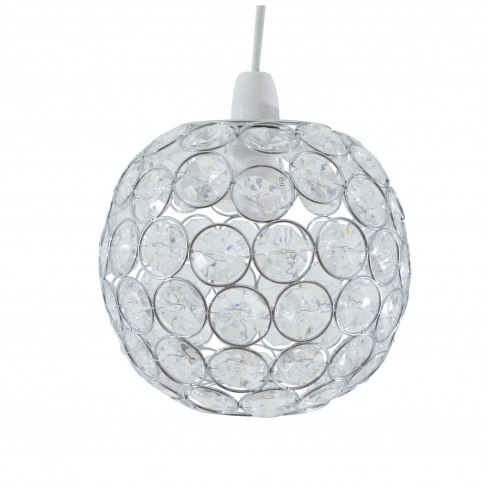 Casa Ball Ceiling Shade, Chrome