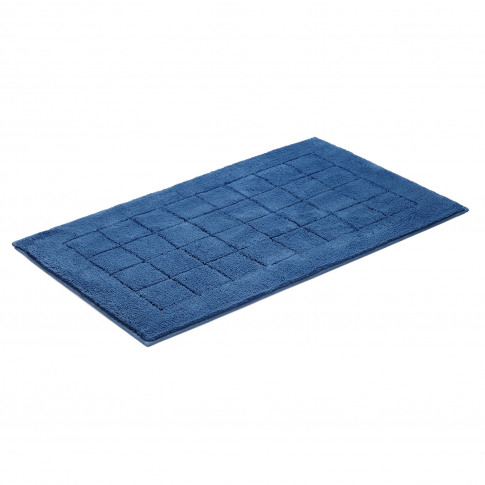 Vossen Exclusive Bath Mat, Deep Blue