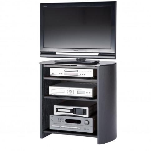 Casa Finewood Black Tv Stand 750/4