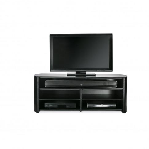 Casa Finewood Black Tv Stand 1350sb