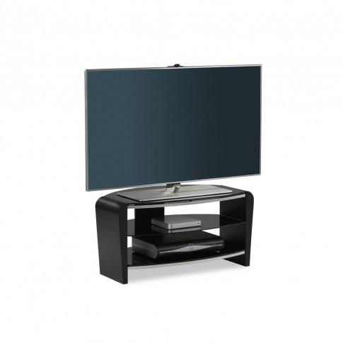 Casa Francium Black Tv Stand 800