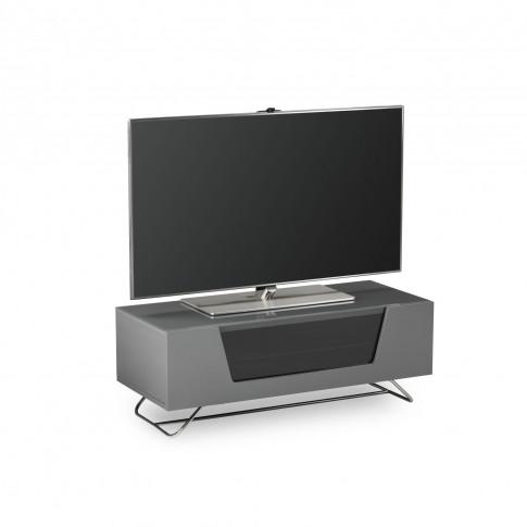 Casa Chromium High Gloss TV Stand