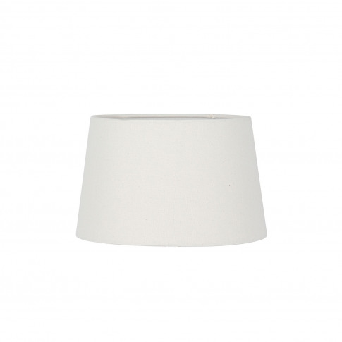 Casa 30cm Cream Calico Shade, Cream