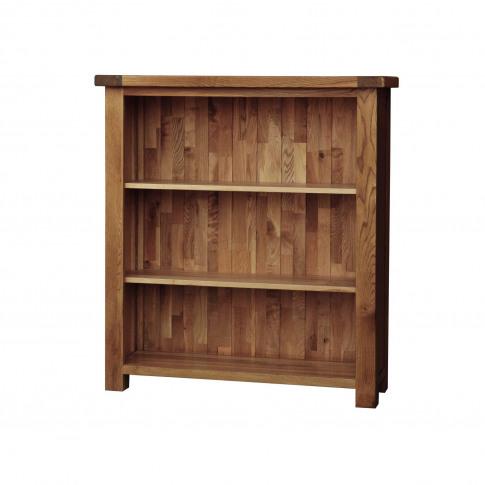 Casa Bordeaux Small Wide Bookcase