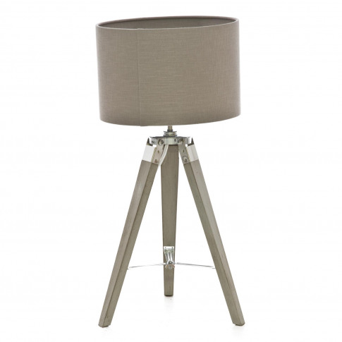 Casa Metro Tripod Table Lamp, Grey