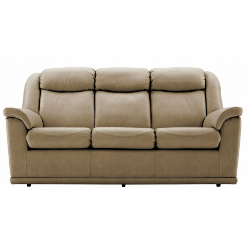 G Plan Milton 3 Seater Leather Sofa