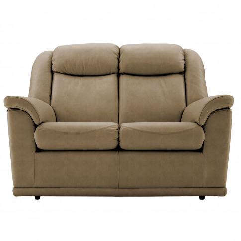 G Plan Milton 2 Seater Leather Sofa
