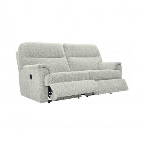 G Plan Watson 3 Seater Double Power Recliner Fabric Sofa