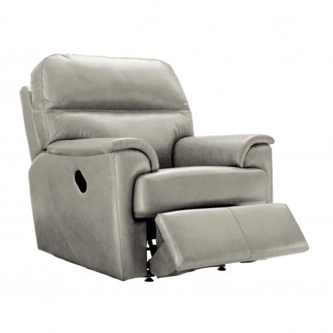 G Plan Watson Recliner Leather Armchair