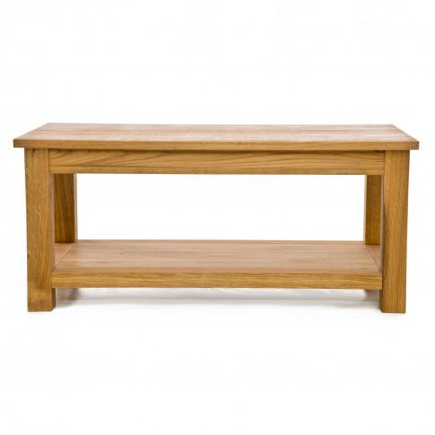 Casa Nevada Coffee Table With Shelf