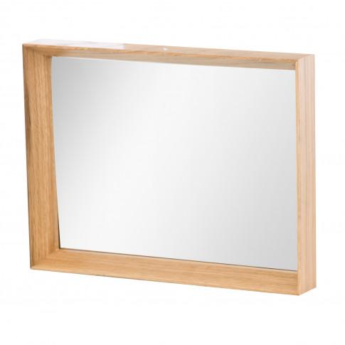 Casa Oak Frame Mirror, Oak