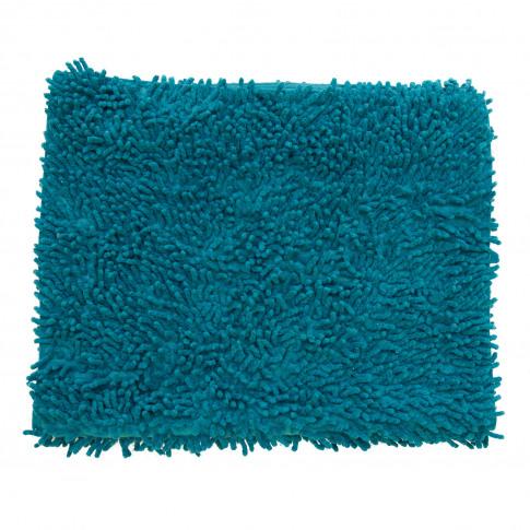 Casa Everyday Cotton Loop Bath Mat, Petrol Blue