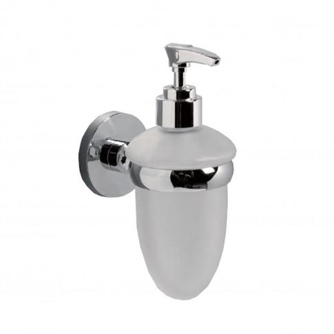 Miller Lily Soap Dispenser, Chrome