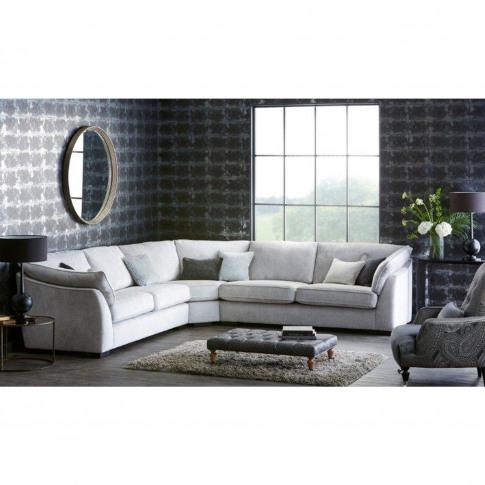 Casa Halley Corner Fabric Sofa