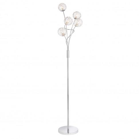 Casa Westminster Floor Lamp, Silver
