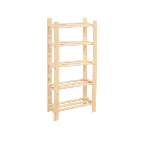 Core Products 5 Shelf Narrow Slatted Storage Unit