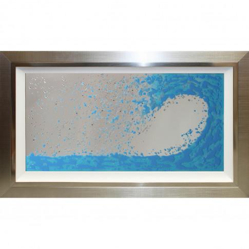 Ocean Wave Mirror Liquid Art