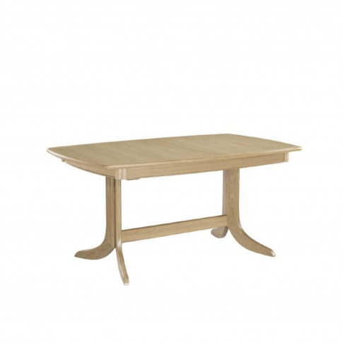 Nathan Shades Oak Extending Dining Table, Oak