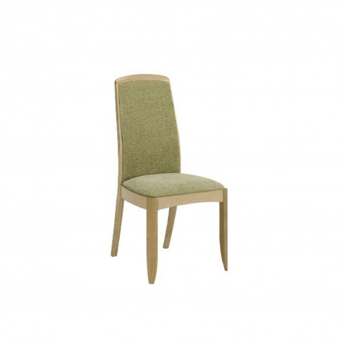 Nathan Shades Oak Upholstered Dining Chair