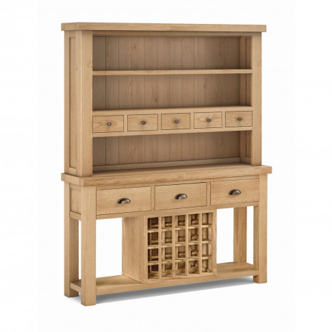 Fairford Open Hutch Cabinet