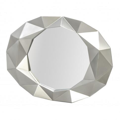 Casa Champagne Bevel Mirror, Gold